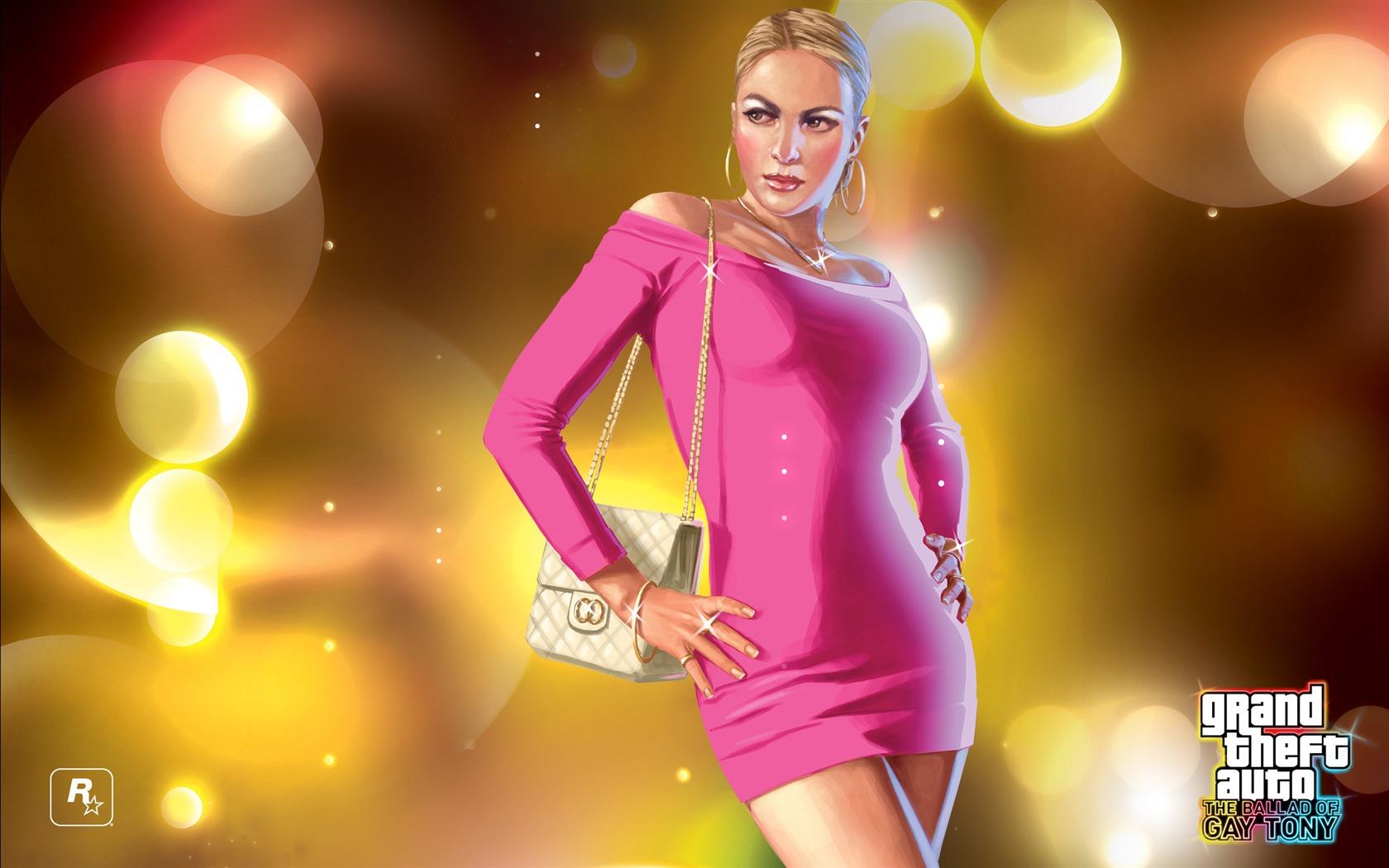 Арт к игре Grand Theft Auto: The Ballad of Gay Tony