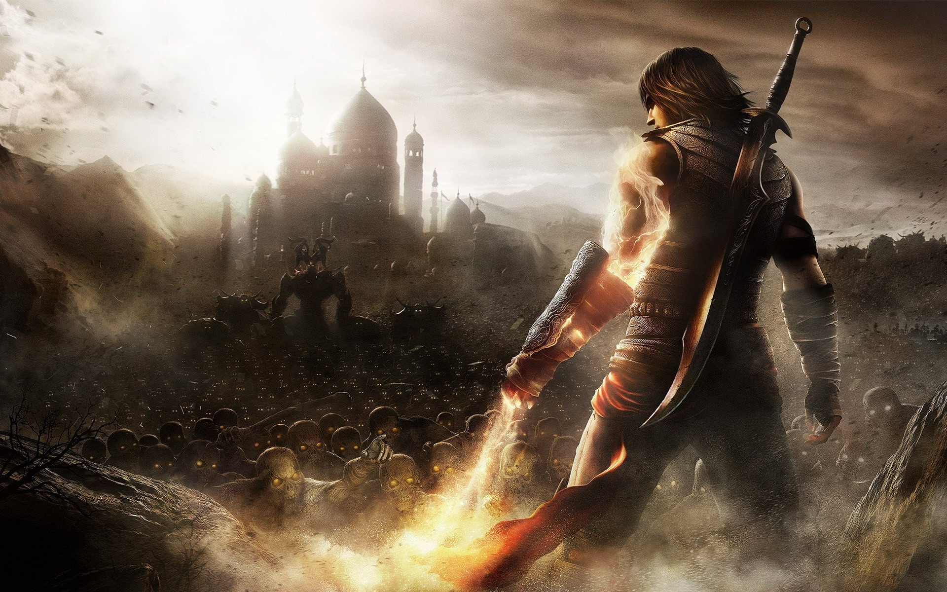 Арт к игре Prince of Persia: The Forgotten Sands