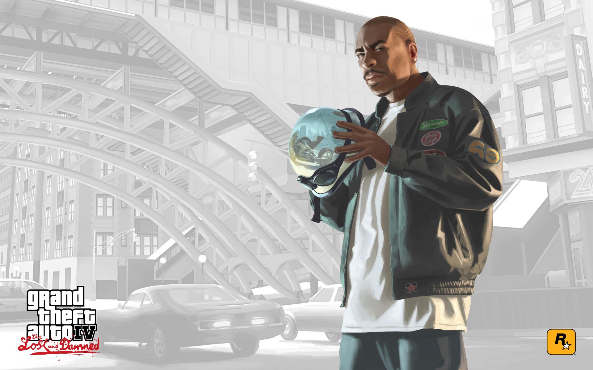 Арт к игре Grand Theft Auto: Episodes From Liberty City