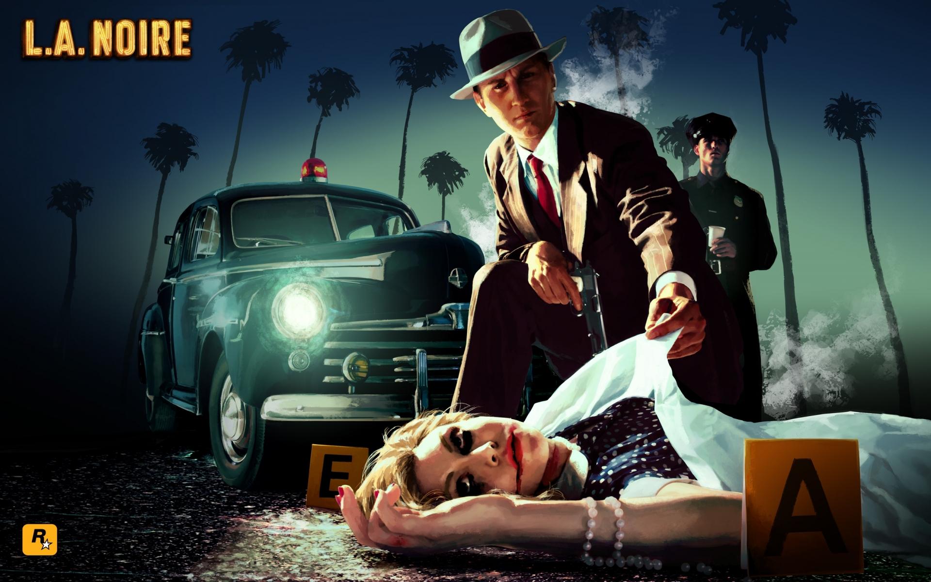 Арт к игре L.A. Noire