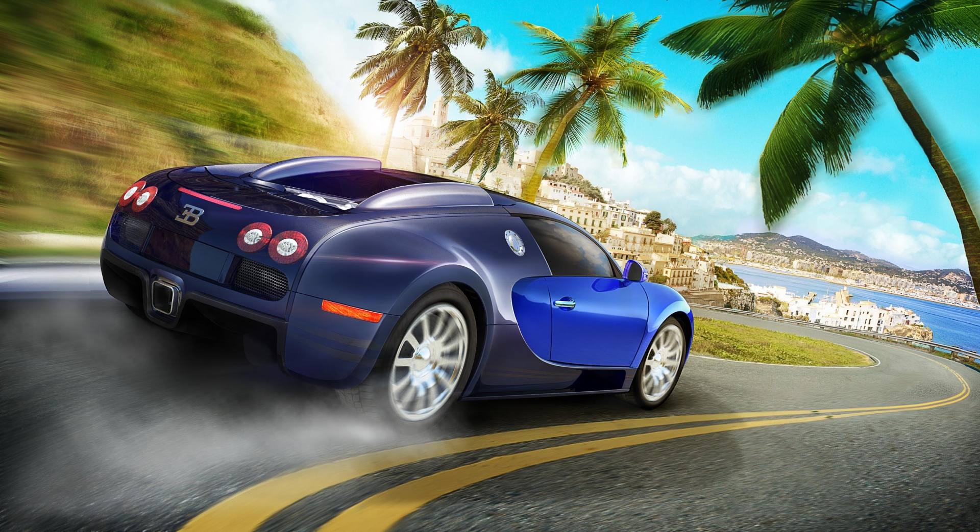 Арт к игре Test Drive Unlimited 2