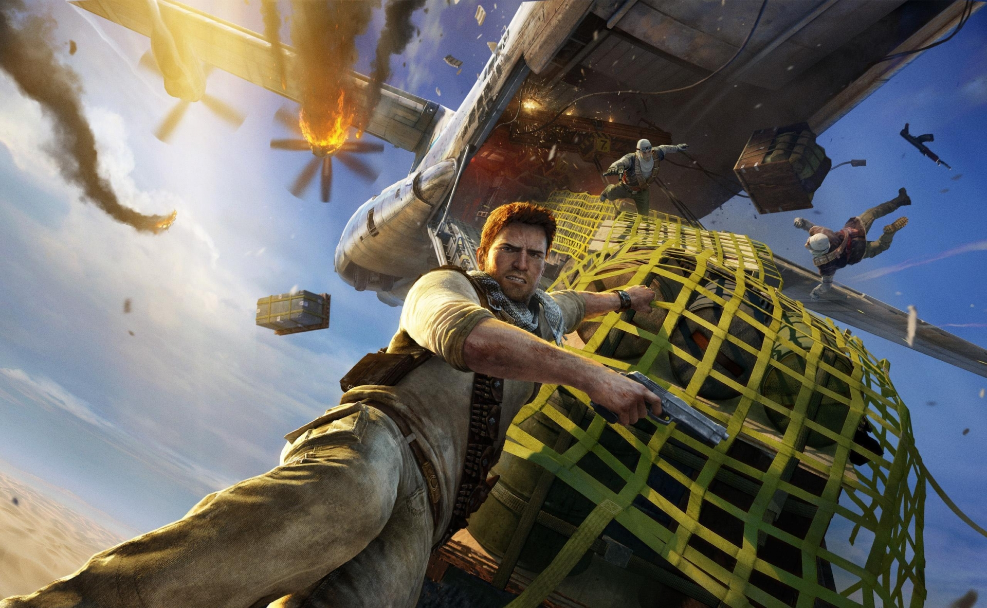 Арт к игре Uncharted 3: Drake's Deception