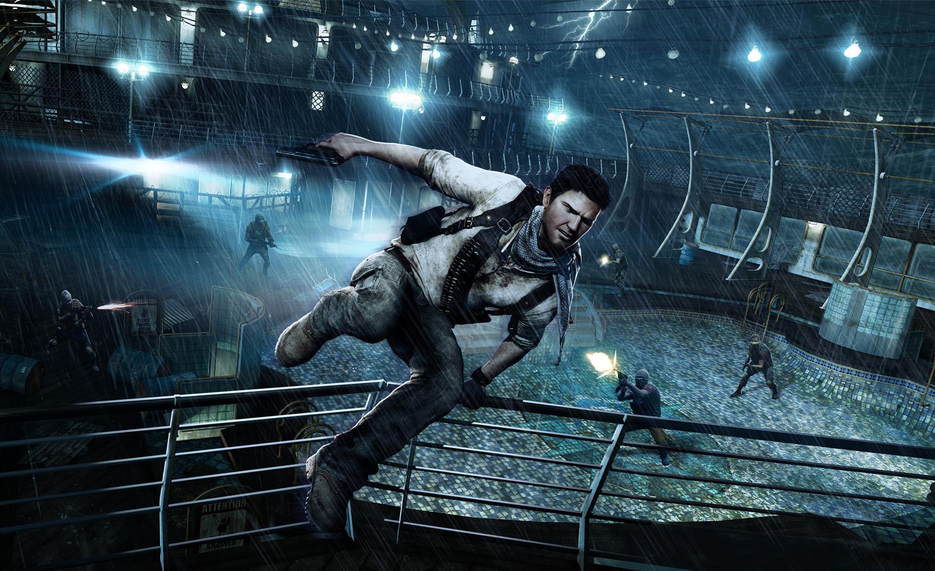Арт к игре Uncharted 3: Drake's Deception