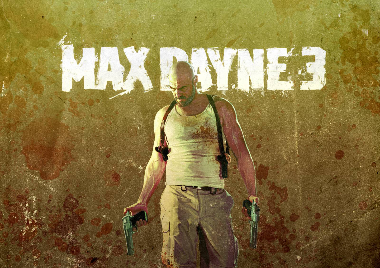 Арт к игре Max Payne 3