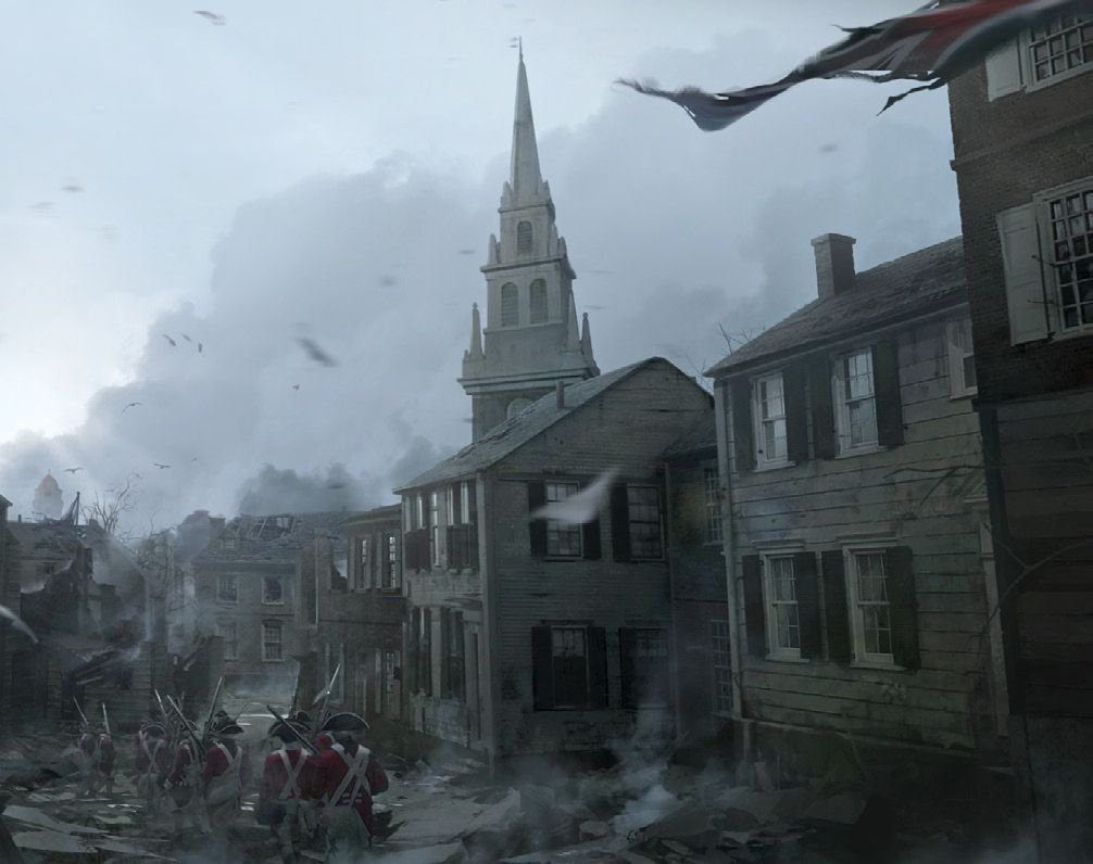 Арт к игре Assassin's Creed III