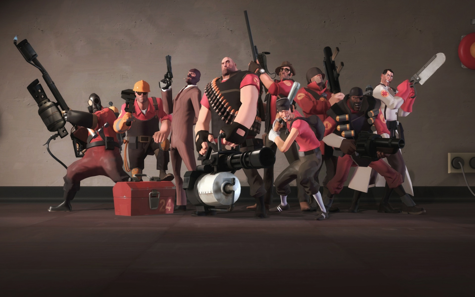 Арт к игре Team Fortress 2