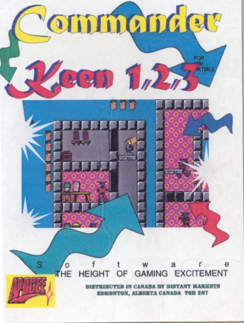 Commander Keen in Invasion of the Vorticons