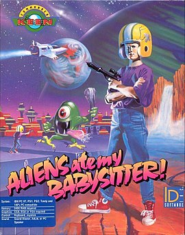 Commander Keen in Aliens Ate My Babysitter!