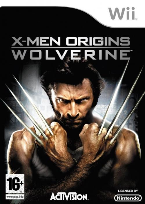 X-Men Origins: Wolverine PS2, Wii Version