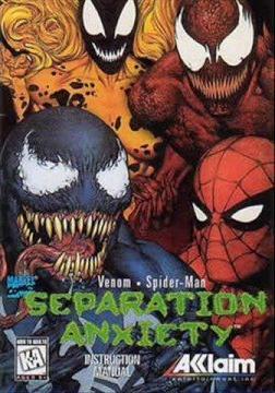 Venom and Spider-Man: Separation Anxiety