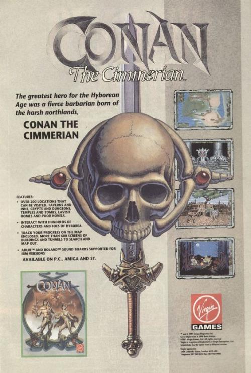 Conan: The Cimmerian