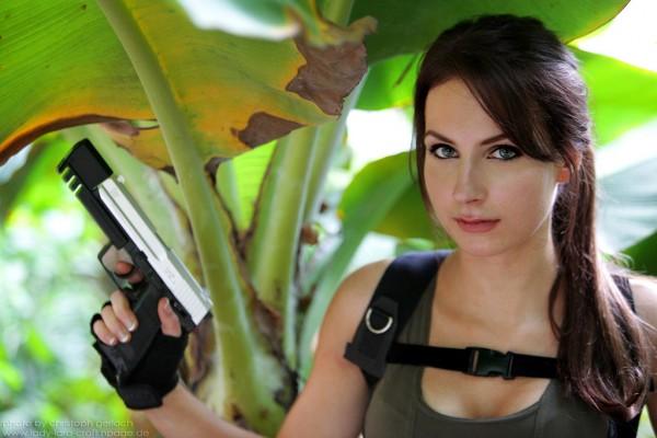 Лара Крофт - легендарная героиня игр