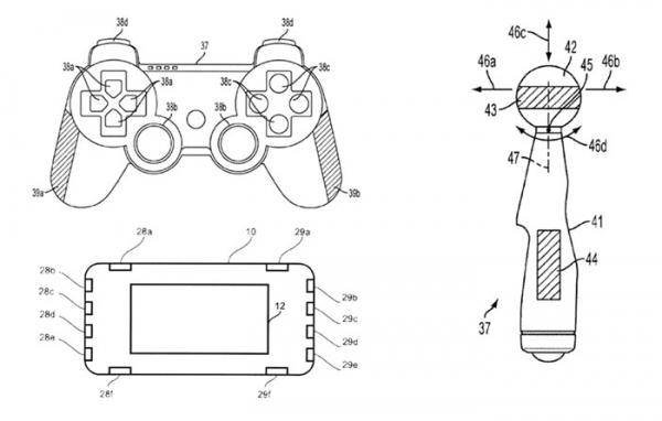 Sony патентует биометрические контроллеры
