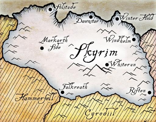 TES 5: Города Скайрима