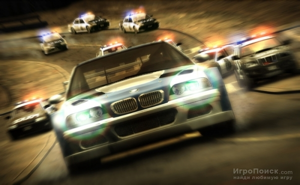 Скриншоты Need for Speed: Most Wanted – танки грязи не боятся