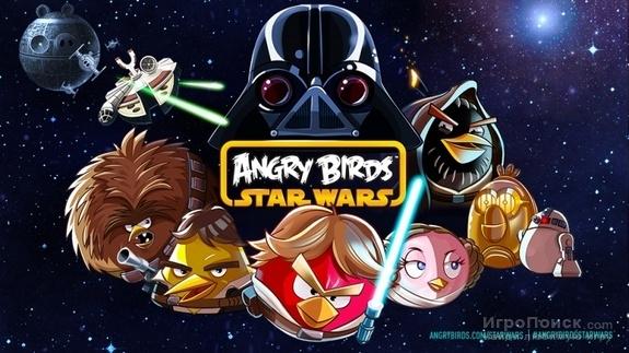 Angry Birds была загружена более 8 млн раз 25 декабря