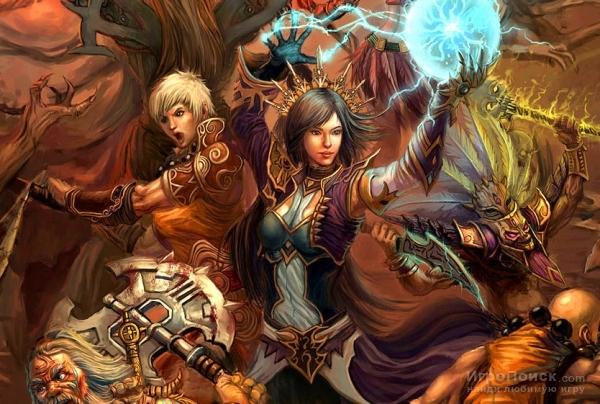 Между PC и PS версиями игры Diablo III не будет кросс-платформенного геймплея