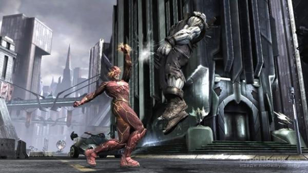 Суперзлодей Думсдэй появится в Injustice: Gods Among Us