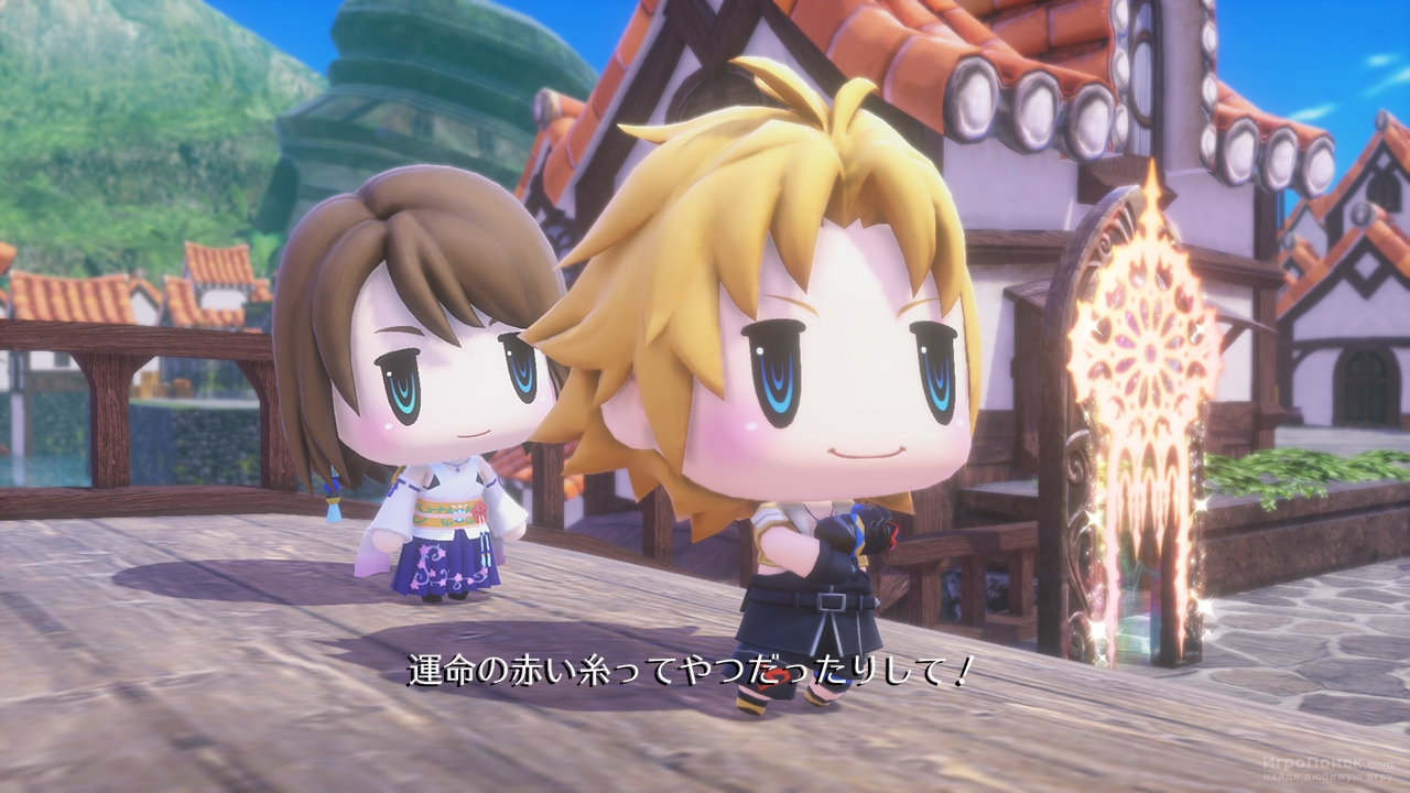 World of Final Fantasy - релиз на PC уже в ноябре 2017