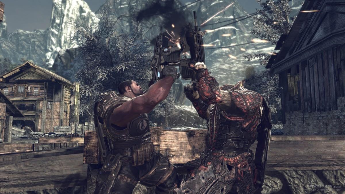 Скриншот к игре Gears of War 2