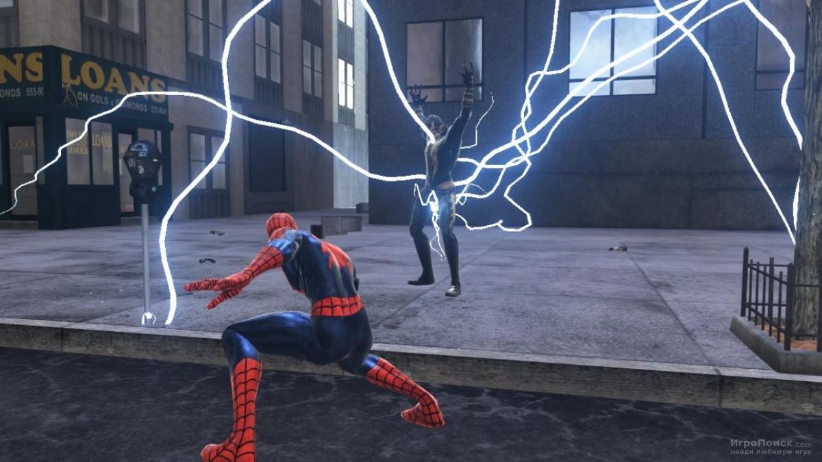 Скриншот к игре Spider-Man: Web of Shadows