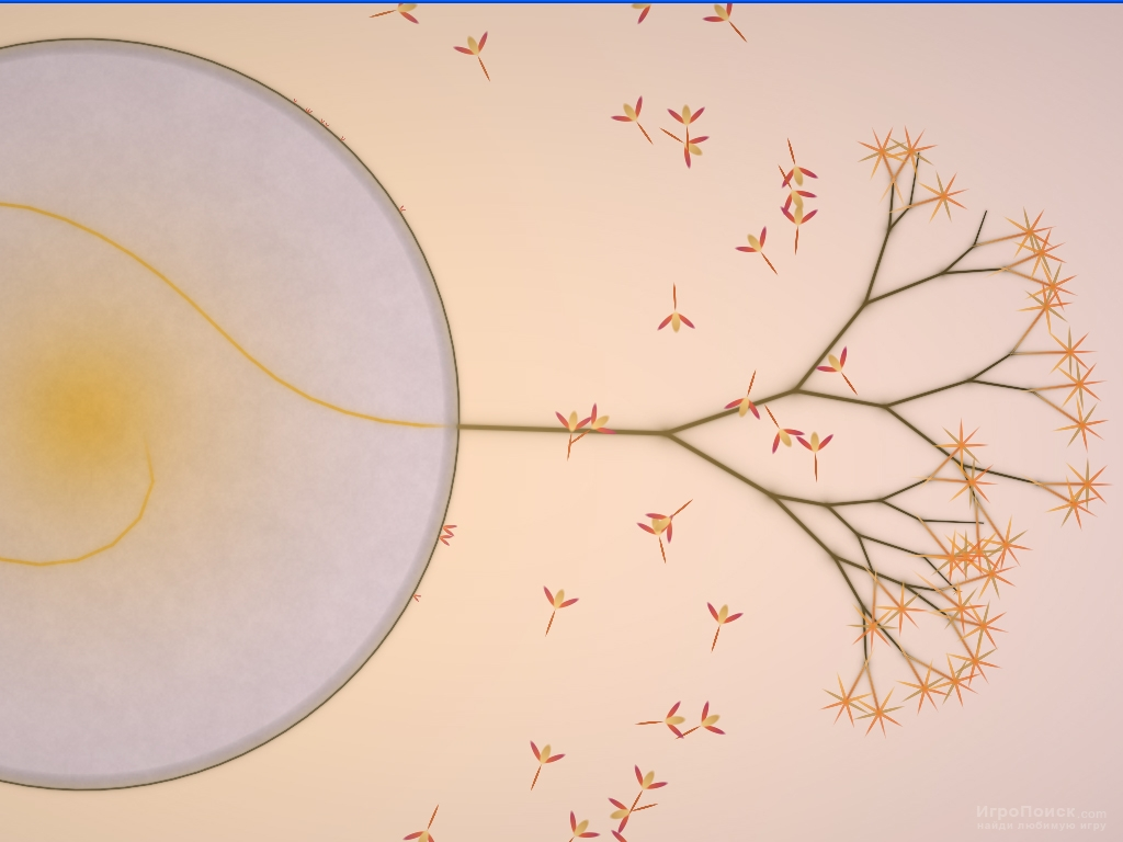 Скриншот к игре Eufloria