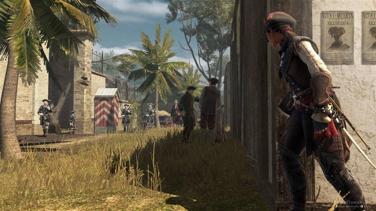 Скриншот к игре Assassin's Creed III: Liberation
