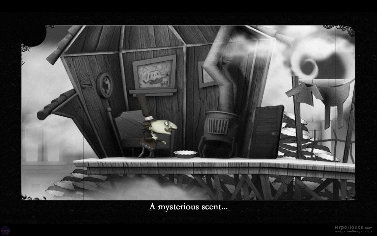 Скриншот к игре The Misadventures of P B Winterbottom