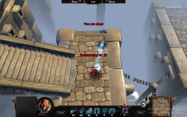 Скриншот к игре Bloodline Champions