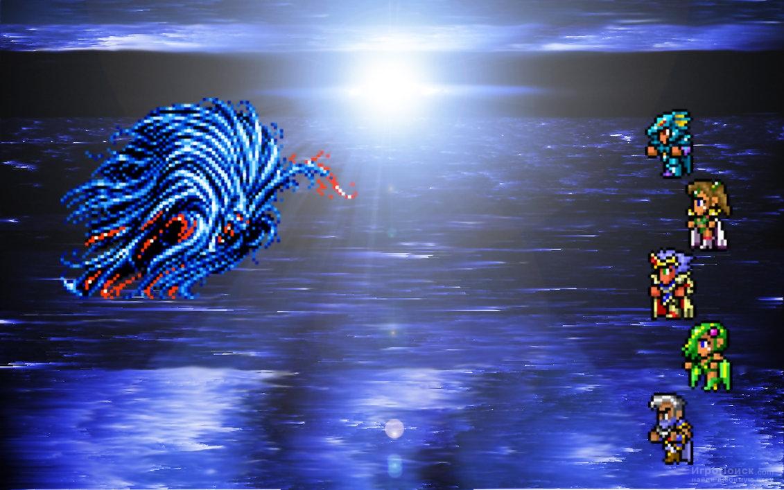Скриншот к игре Final Fantasy IV