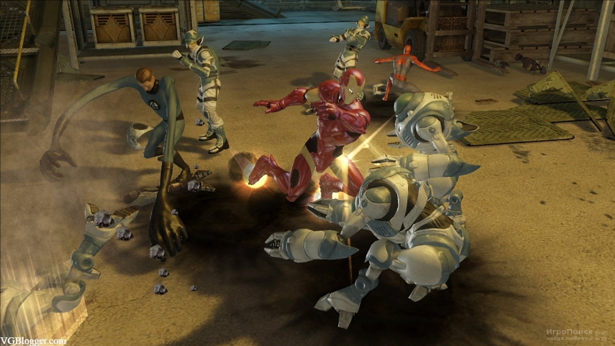 Скриншот к игре Marvel Ultimate Alliance 2: Fusion