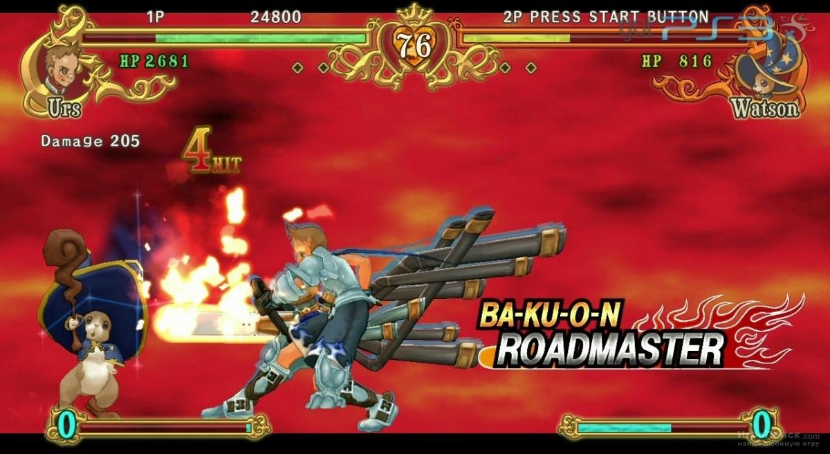 Скриншот к игре Battle Fantasia