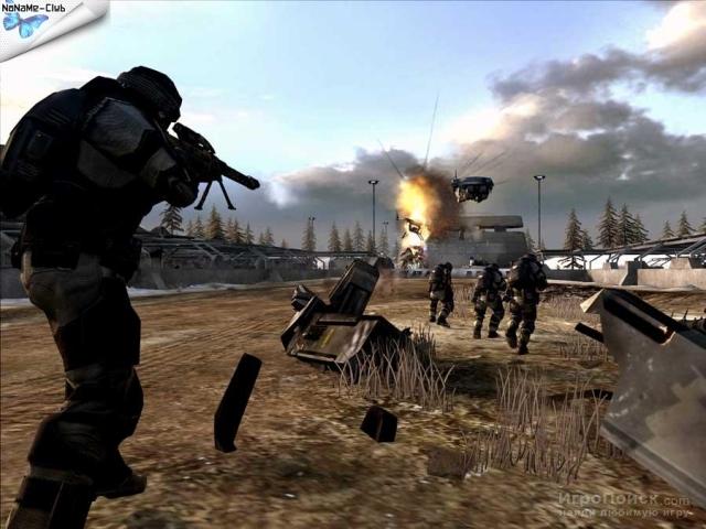 Скриншот к игре Battlefield 2142: Northern Strike