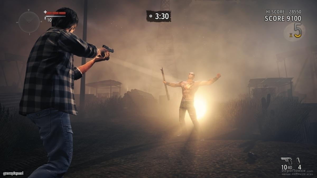 Скриншот к игре Alan Wake's American Nightmare