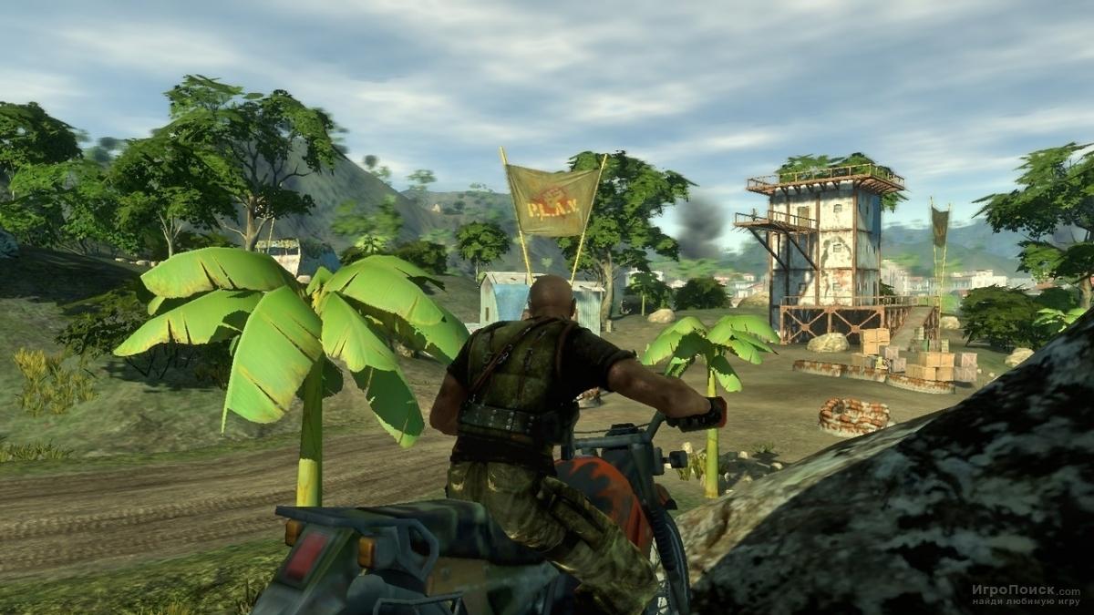 Скриншот к игре Mercenaries 2: World in Flames