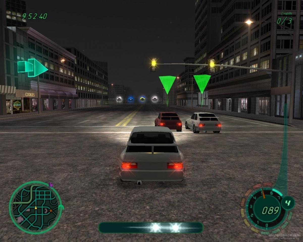 Скриншот к игре Midnight Club II