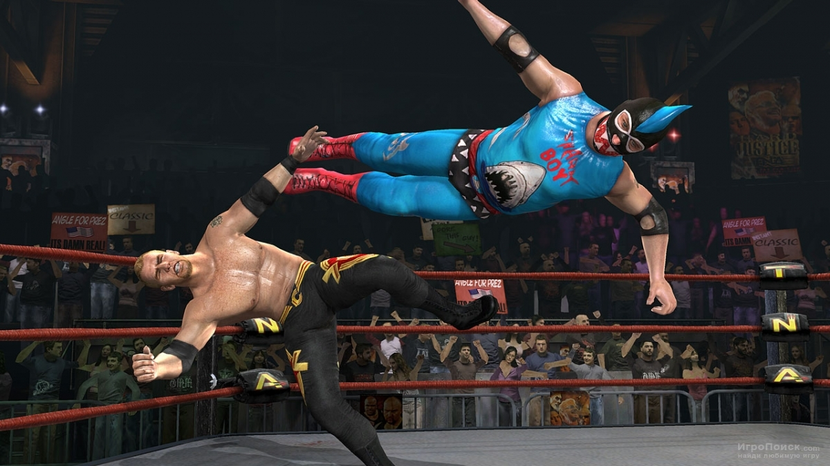 Скриншот к игре TNA Impact