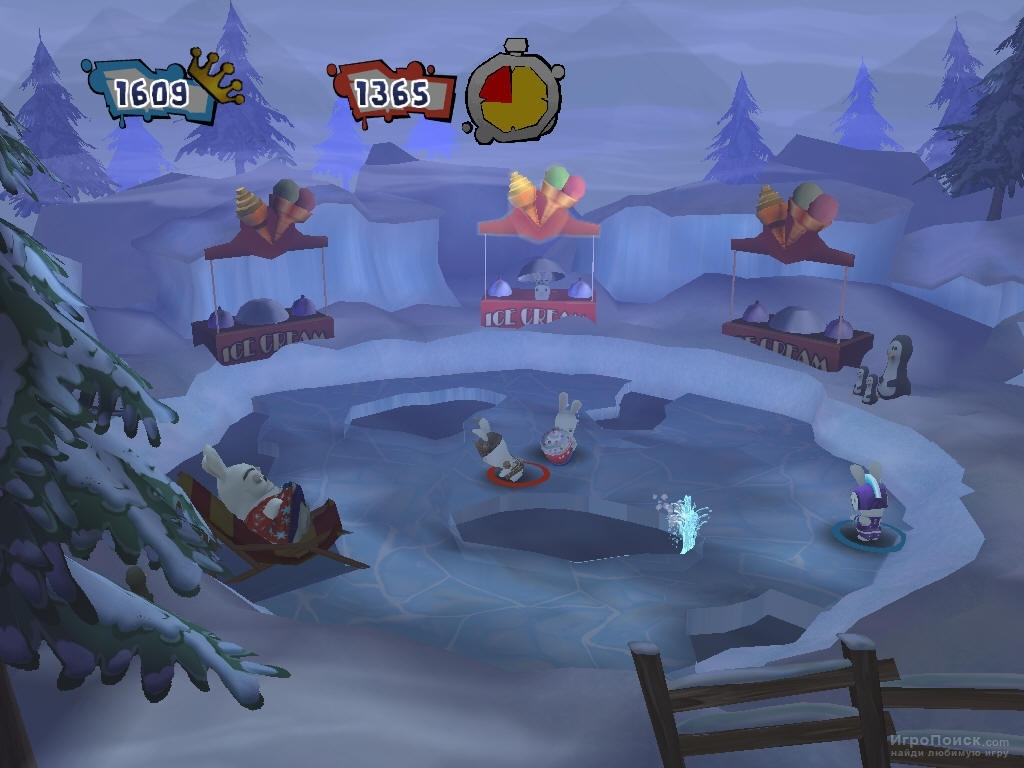 Скриншот к игре Rayman Raving Rabbids 2