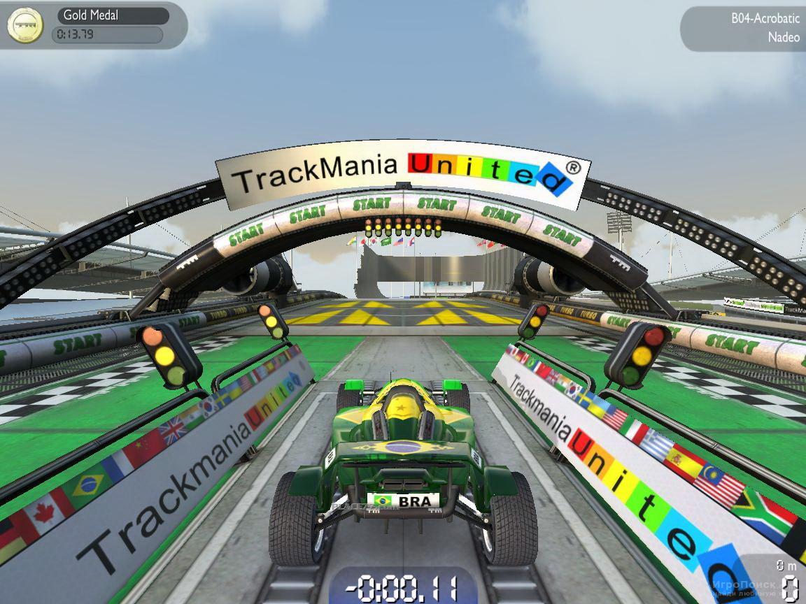 Скриншот к игре TrackMania Nations Forever