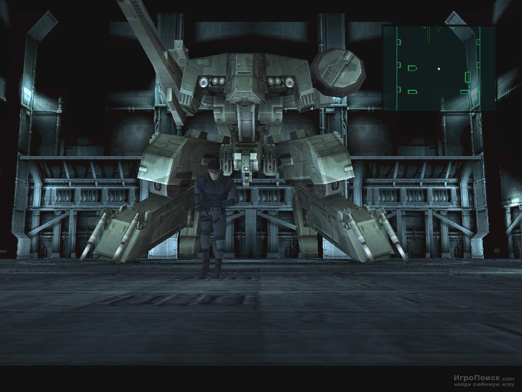 Скриншот к игре Metal Gear Solid
