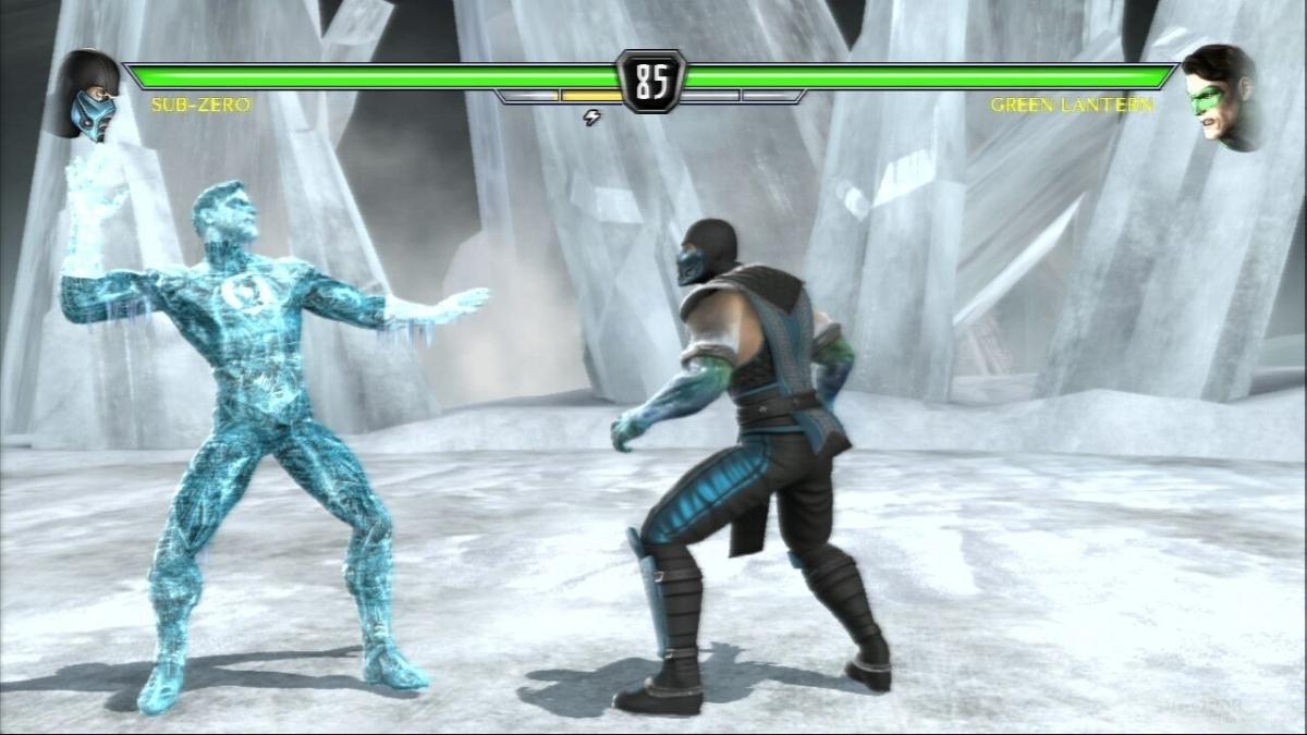 Скриншот к игре Mortal Kombat vs. DC Universe