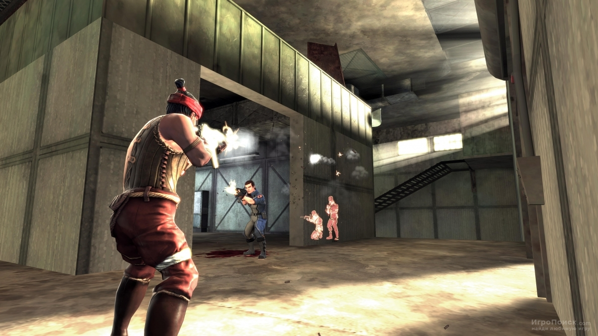 Скриншот к игре Shadowrun 2007