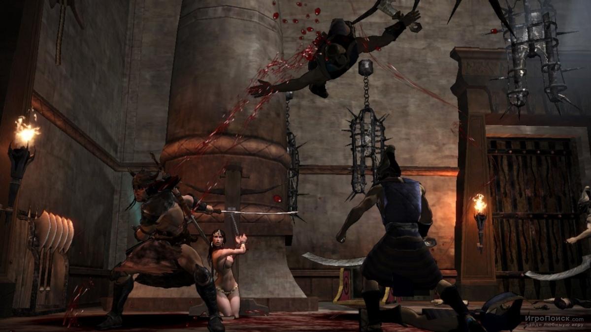 Скриншот к игре Conan 2007
