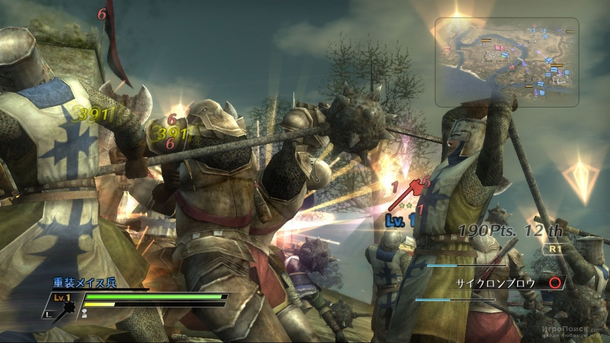 Скриншот к игре Bladestorm: The Hundred Years' War