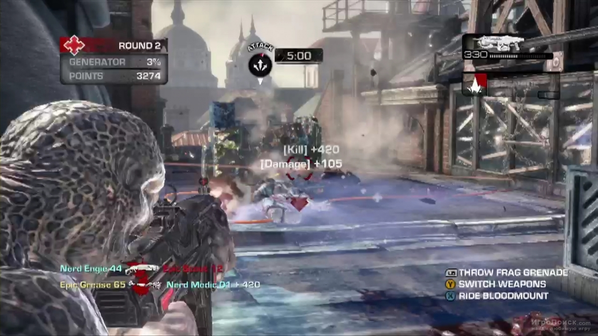 Скриншот к игре Gears of War: Judgment