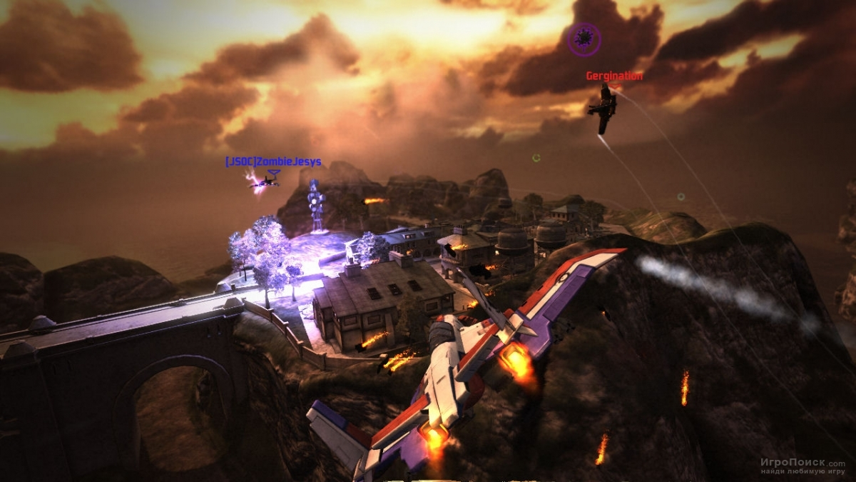 Скриншот к игре Warhawk