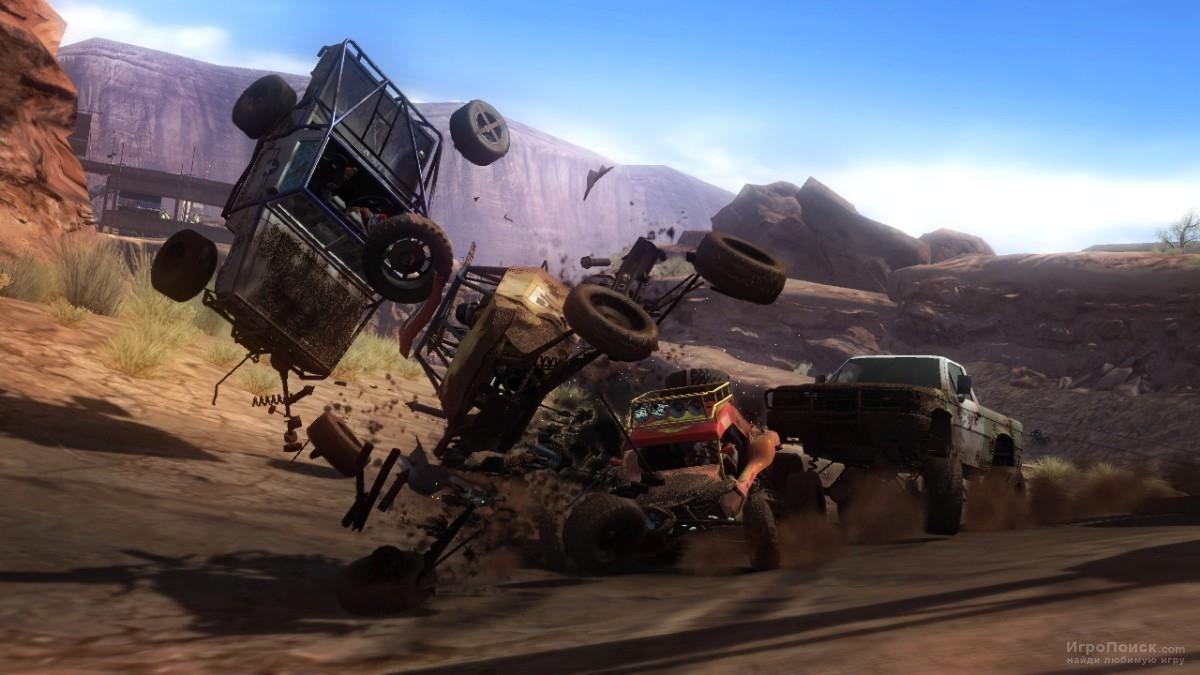 Скриншот к игре MotorStorm