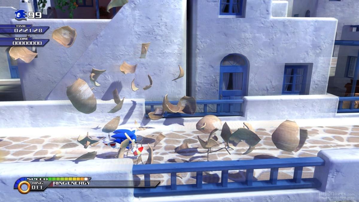Скриншот к игре Sonic Unleashed