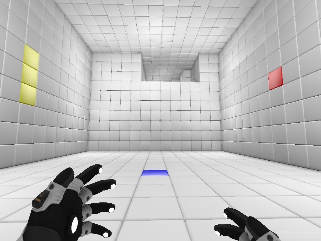 Скриншот к игре Q.U.B.E.