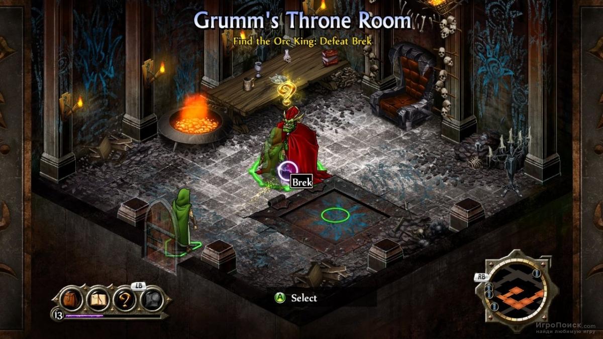 Скриншот к игре Puzzle Quest 2